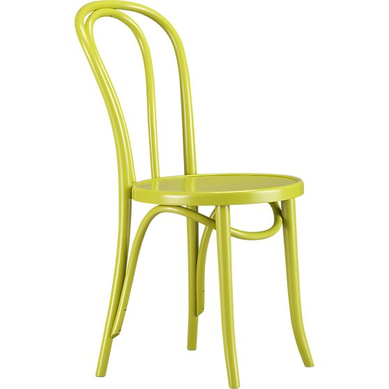 Crate and Barrel Vienna Apple Side Chair