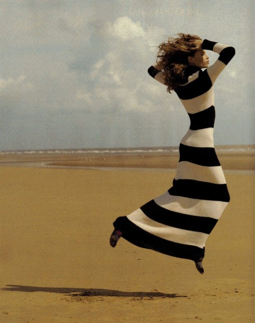 striped dress photo