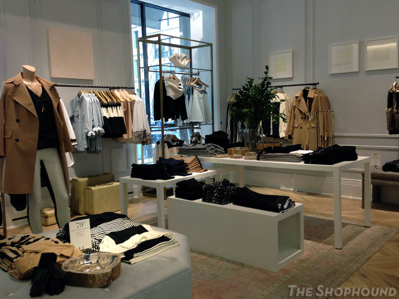 Club Monaco flagship store NYC