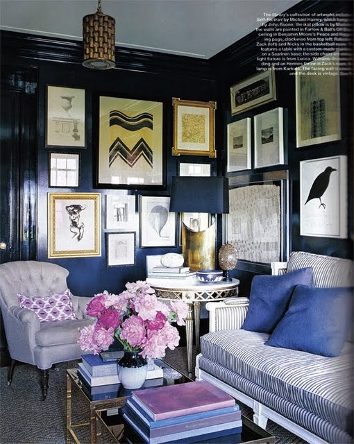 Anne Coyle & Nate Berkus in Elle Decor