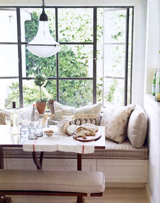House Beautiful breakfast nook