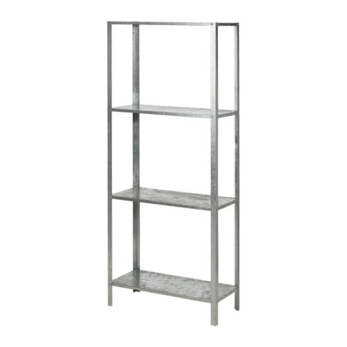 Apartment progress IKEA Hyllis shelving units