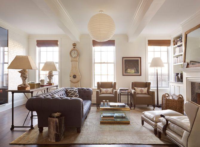 Sara Ruffin Costello living room