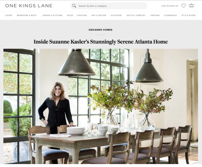 Suzanne Kasler Home Tour | One Kings Lane